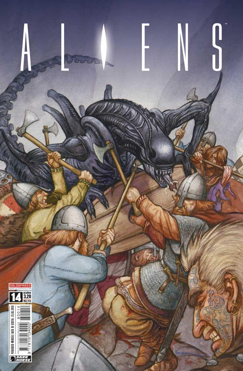 Libri Aliens Vol 14 (Edicola) NUOVO SIGILLATO, EDIZIONE DEL 04/09/2018 SUBITO DISPONIBILE