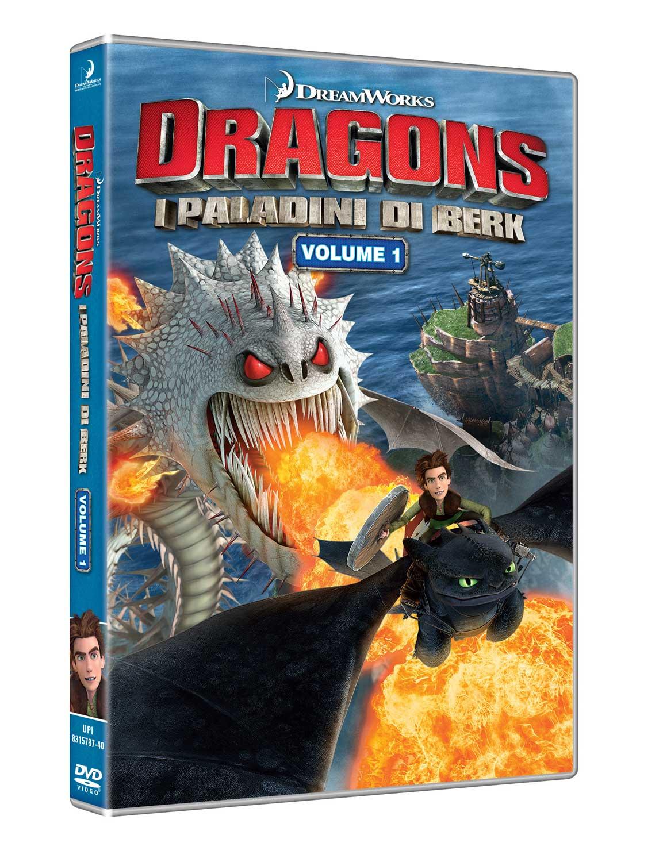 Dvd Dragons - I Paladini Di Berk Vol 01 NUOVO SIGILLATO, EDIZIONE DEL 20/06/2018 SUBITO DISPONIBILE