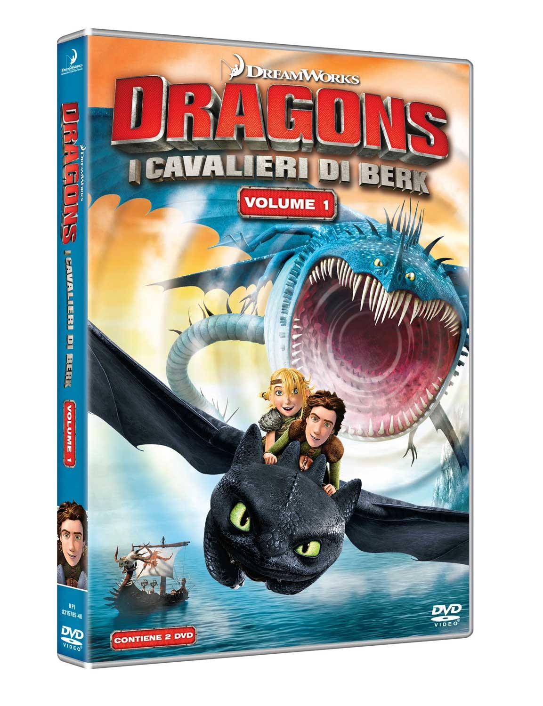 Dvd Dragons - I Cavalieri Di Berk Vol 01 NUOVO SIGILLATO, EDIZIONE DEL 20/06/2018 SUBITO DISPONIBILE