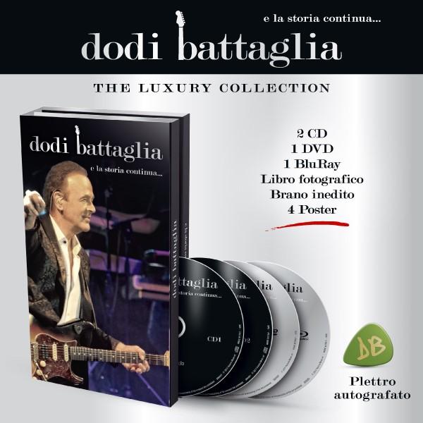 Audio Cd Dodi Battaglia - E La Storia Continua... (Deluxe Edition) NUOVO SIGILLATO, EDIZIONE DEL 11/05/2018 SUBITO DISPONIBILE