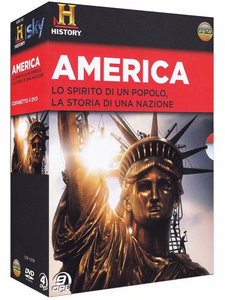 Dvd America (4 Dvd) NUOVO SIGILLATO, EDIZIONE DEL 24/10/2012 SUBITO DISPONIBILE