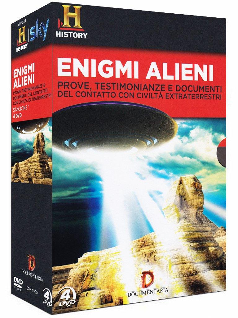 Dvd Enigmi Alieni - La Serie Completa (4 Dvd) NUOVO SIGILLATO, EDIZIONE DEL 17/04/2013 SUBITO DISPONIBILE