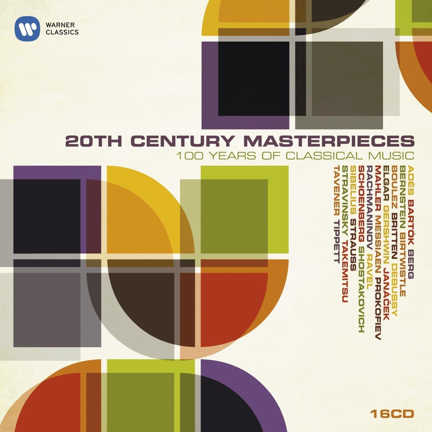 Audio Cd 20th Century Masterpieces: 100 Years Of Classical Music (16 Cd) NUOVO SIGILLATO, EDIZIONE DEL 06/10/2008 SUBITO DISPONIBILE
