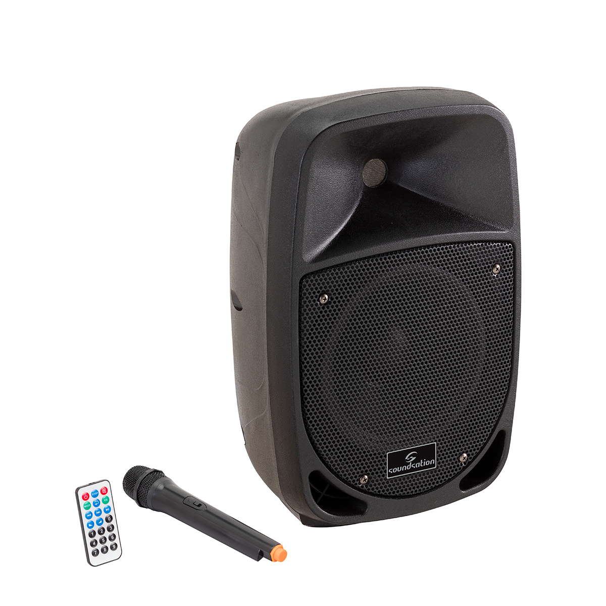PA PORTATILE A BATTERIA SOUNDSATION GO-SOUND 8AMW MP3 BLUETOOTH MIC VHF