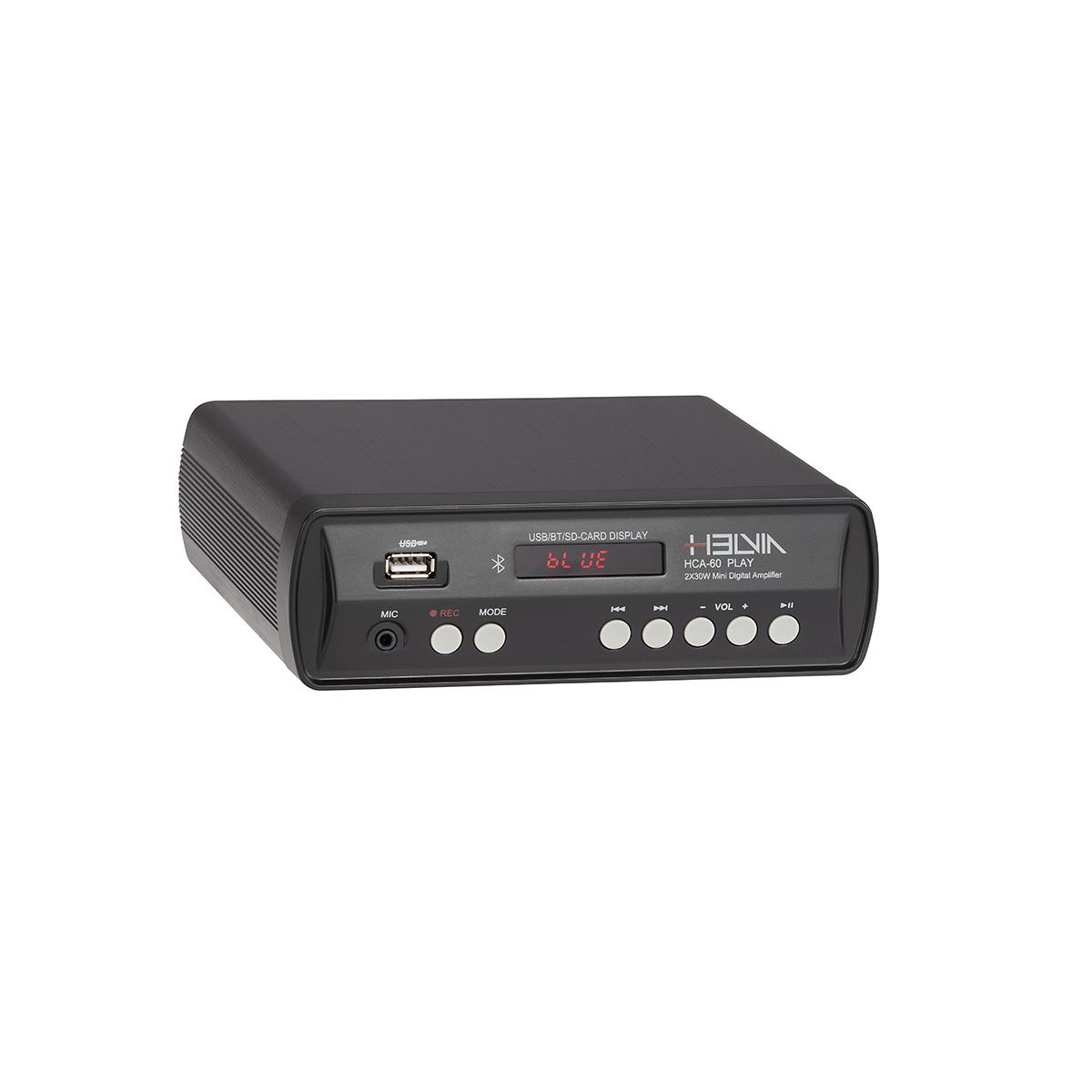 MINI STEREO AMP HELVIA HCA-60 PLAY 2X30W