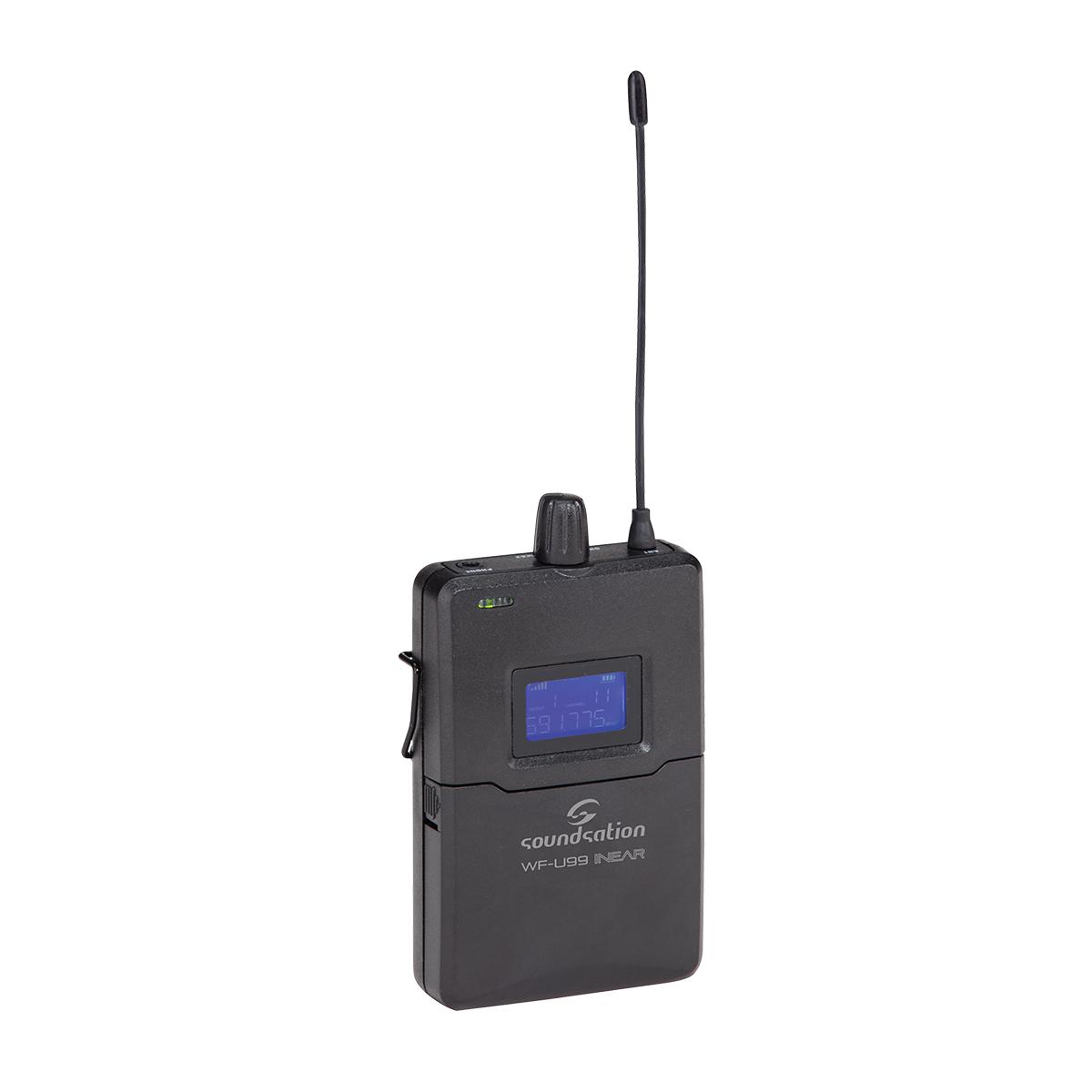 RICEVITORE PER WF-U99 INEAR SOUNDSATION WF-U99 RX UHF 99-CANALI 863-865MHz