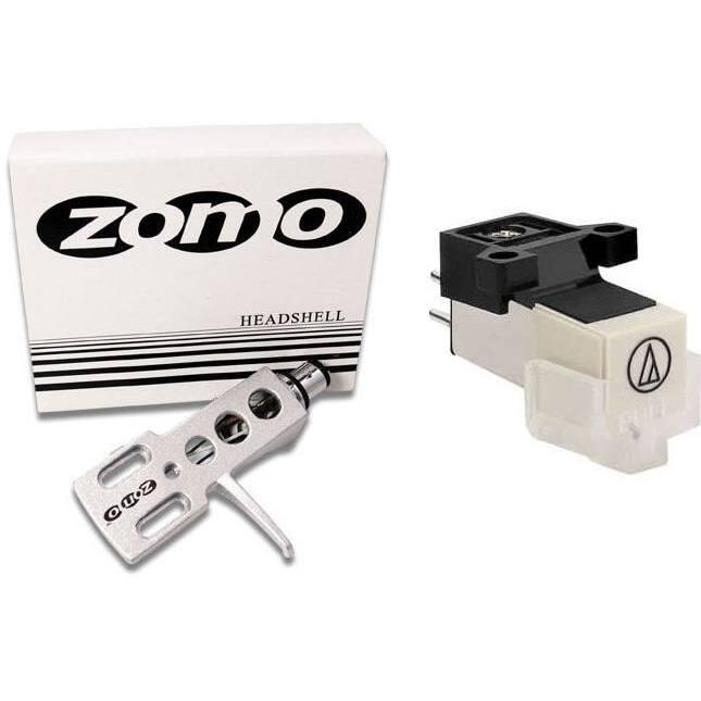 Audio Technica 3600 L + Zomo Headshell Argento 0030103261