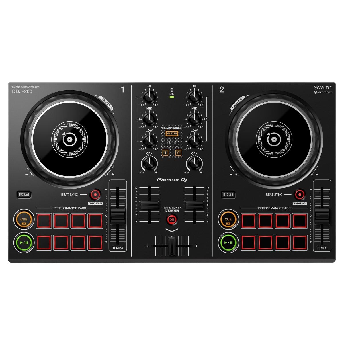 CONTROLLER DJ PIONEER DDJ-200 ex-demo