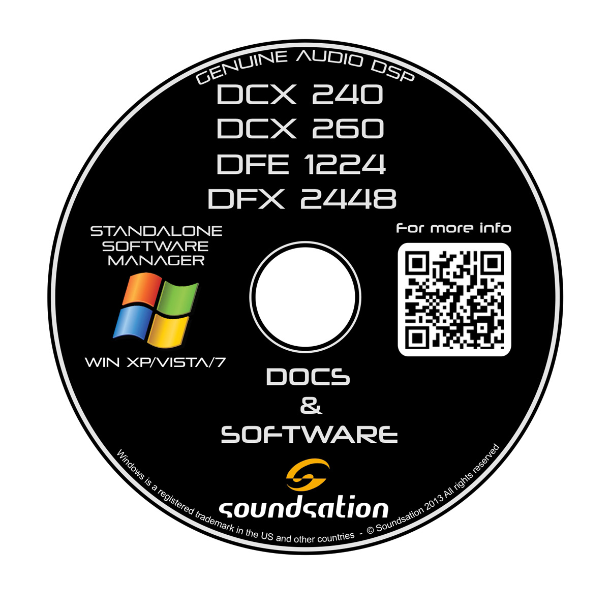 PROCESSORE DIGITALE MULTIEFFETTO SOUNDSATION DFX2448