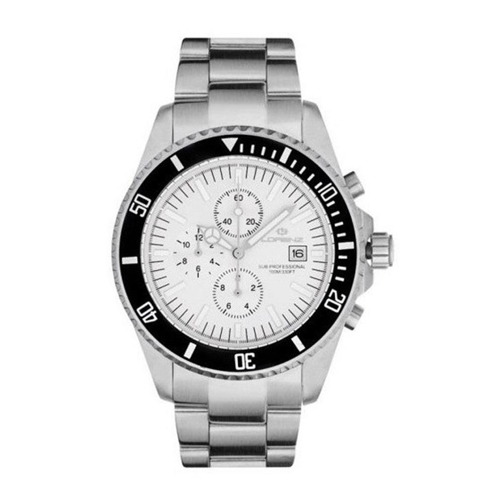 027184EE Orologio da polso  Uomo  Quarzo  Acciaio  Cronografo