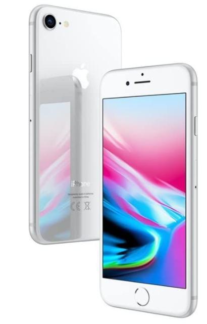 Apple iPhone 8 256GB argento (Ricondizionato GRADO A)