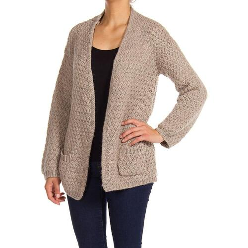 CARRERA CARDIGAN IN MISTO LANA DONNA BEIGE