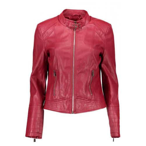 YES ZEE GIACCA CLASSICA DONNA ROSSO