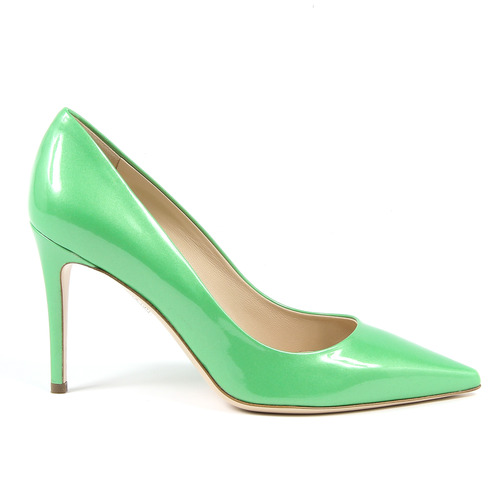 V 19.69 DECOLLETE DONNA VERDE MADE IN ITALY