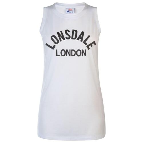 LONSDALE CANOTTA DONNA WHITE