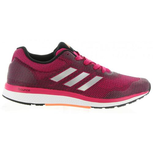 ADIDAS MANA BOUNCE 2 SNEAKERS DONNA ROSSO
