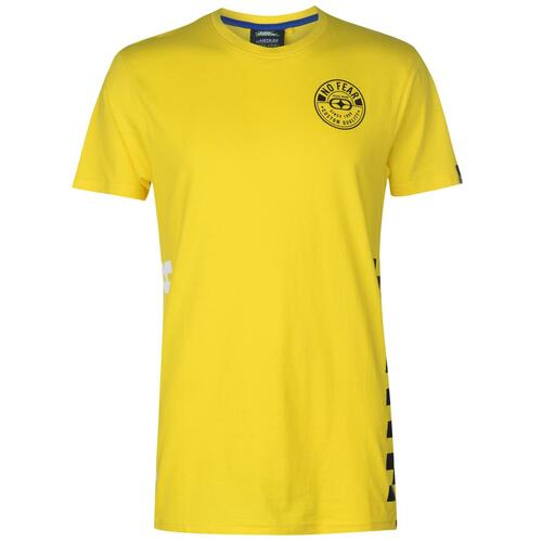 NO FEAR T-SHIRT UOMO YELLOW