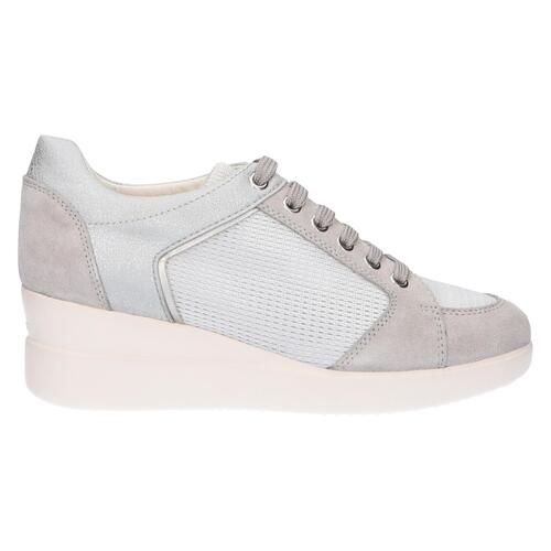 GEOX SNEAKERS DONNA GRIGIO