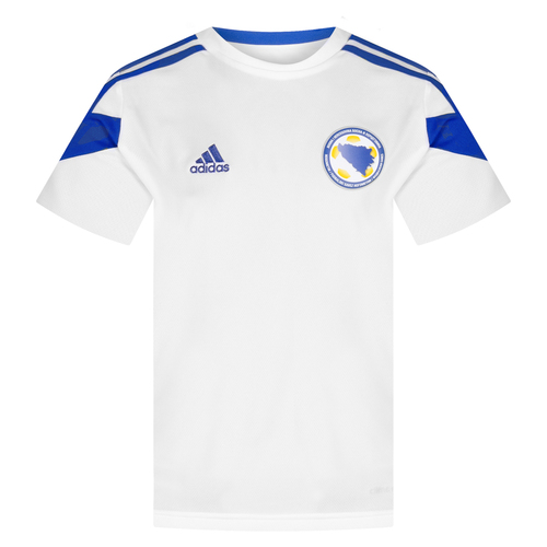 ADIDAS T-SHIRT NAZIONALE BOSNIA BAMBINO WHITE
