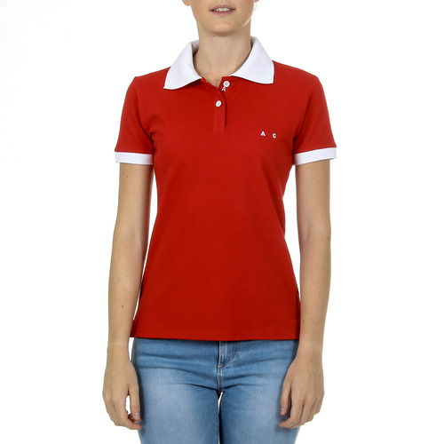 ANDREW CHARLES BY ANDY HILFIGER POLO DONNA ROSSO