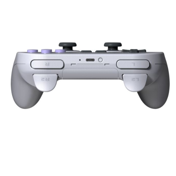 Gamepad portatile Bluetooth Grigio 8Bitdo SN30 Pro + SN Edition per Switch
