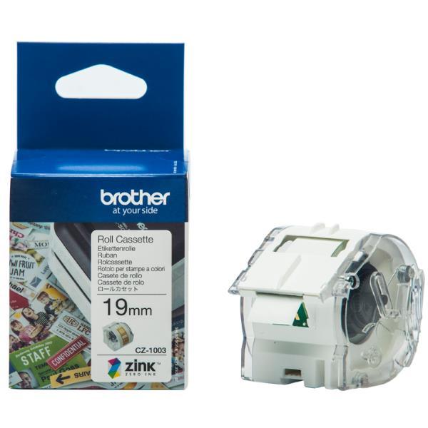 Brother CZ-1003 nastro per etichettatrice Bianco