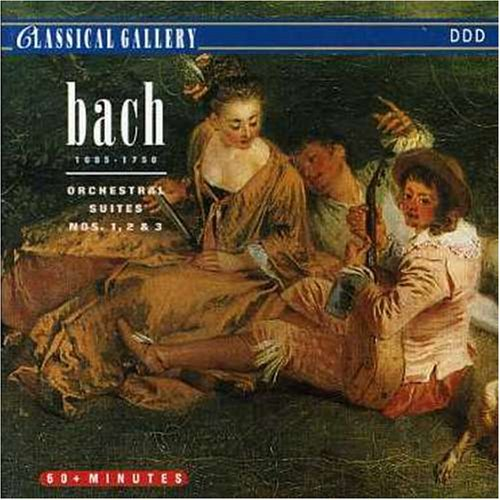 074725  J.S Bach - Bach J.s: Orch Suites Nos 1 - 3 [CD x 1] Neuf