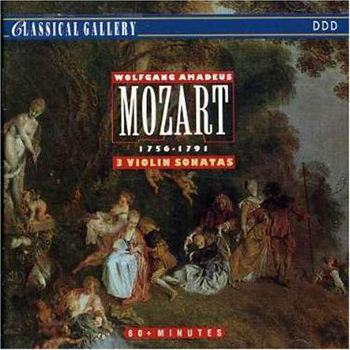  074722  Wolfgang Amadeus Mozart - Sonatas for Violin & Piano [CD x 1] Neuf