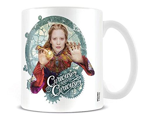Merchandising Alice Through The Looking Glass - Curiouser (Tazza) NUOVO SIGILLATO, EDIZIONE DEL 15/04/2016 SUBITO DISPONIBILE