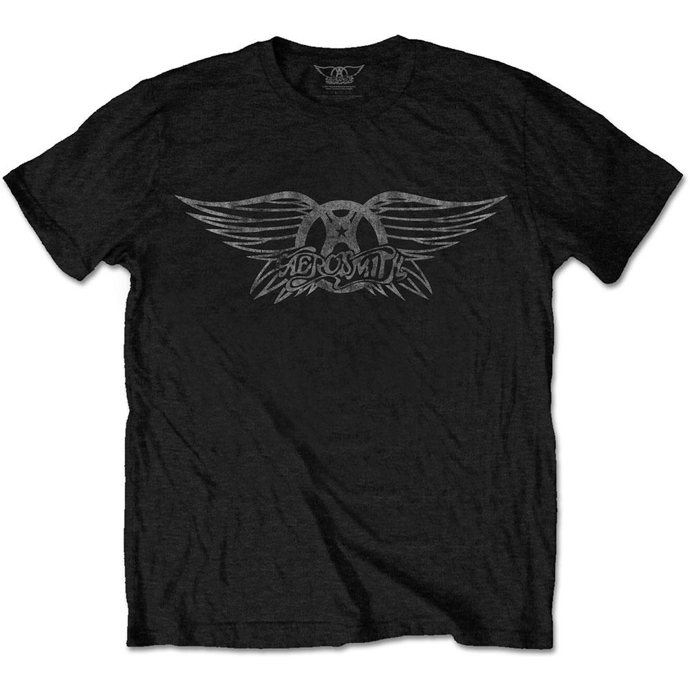 Abbigliamento Aerosmith: Vintage Logo (T-Shirt Unisex Tg. 2XL) NUOVO SIGILLATO SUBITO DISPONIBILE