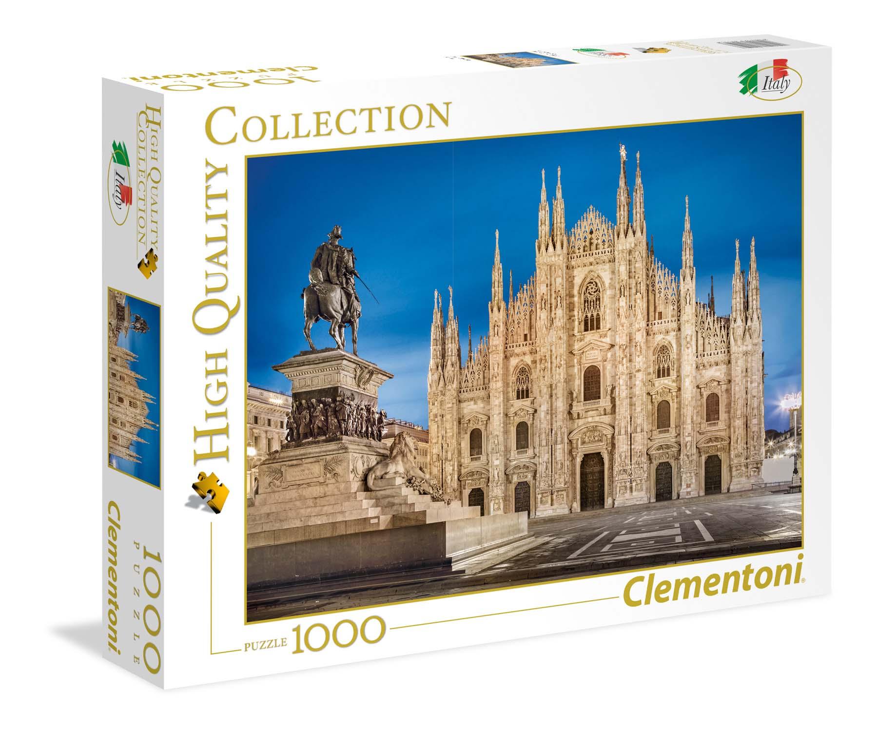 Merchandising Clementoni: Puzzle 1000 Pz - High Quality Collection - Italia - Milan NUOVO SIGILLATO, EDIZIONE DEL 07/03/2018 DISPO ENTRO UN MESE, SU ORDINAZIONE