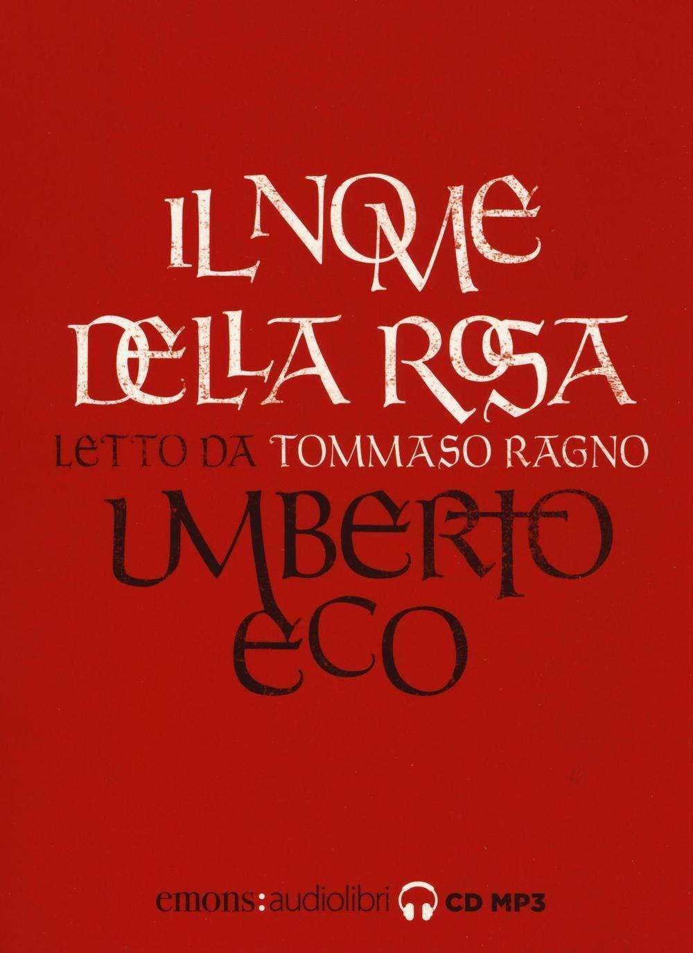 Audiolibro Umberto Eco - Eco, Umberto (Audiolibro) NUOVO SIGILLATO, EDIZIONE DEL 01/12/2016 SUBITO DISPONIBILE