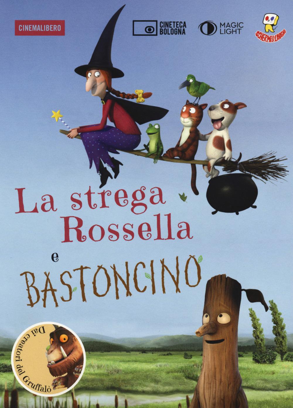 Libri Strega Rossella-Bastoncino. DVD. Con Libro (La) NUOVO SIGILLATO, EDIZIONE DEL 22/11/2018 SUBITO DISPONIBILE
