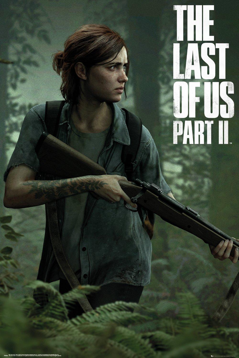 Merchandising Last Of Us 2 (The): Ellie (Poster Maxi 61x91,5 Cm) NUOVO SIGILLATO, EDIZIONE DEL 24/07/2019 SUBITO DISPONIBILE