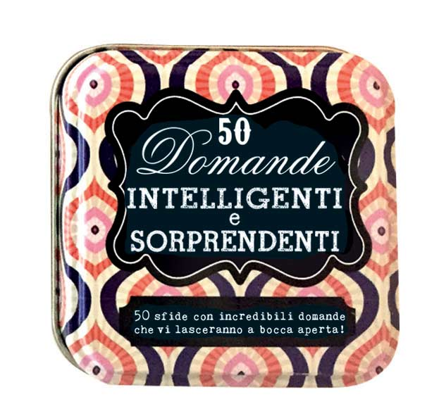 Libri 50 Domande Intelligenti E Sorprendenti. After Dinner Games NUOVO SIGILLATO, EDIZIONE DEL 24/06/2020 SUBITO DISPONIBILE