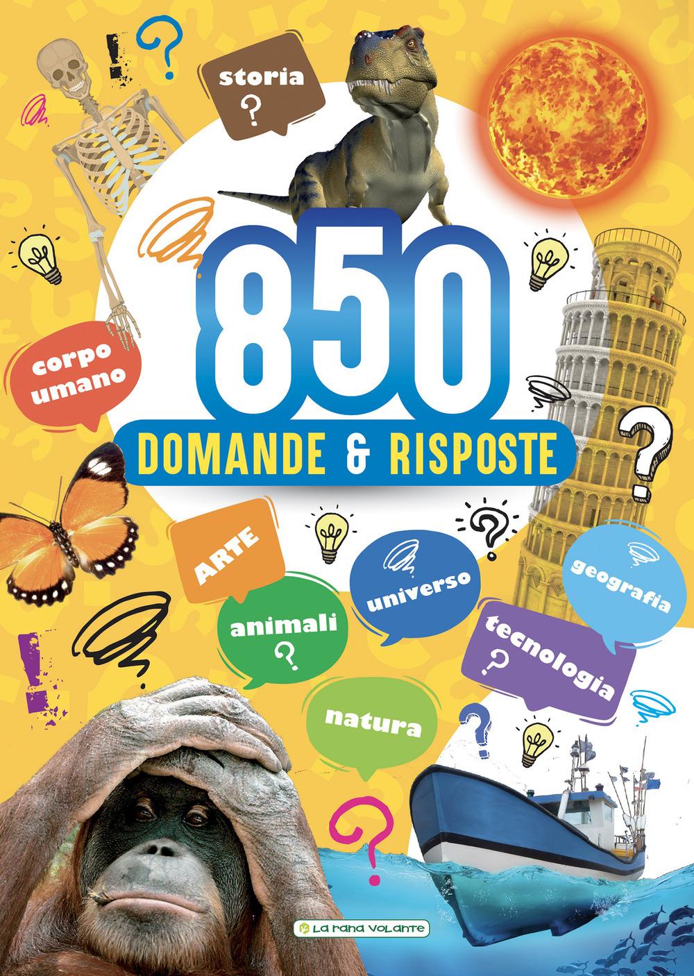Libri 850 Domande E Risposte NUOVO SIGILLATO, EDIZIONE DEL 06/12/2019 SUBITO DISPONIBILE