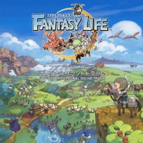 Audio Cd (Game Music) - Fantasy Life Original Soundtrack (2 Cd) NUOVO SIGILLATO, EDIZIONE DEL 13/03/2013 SUBITO DISPONIBILE
