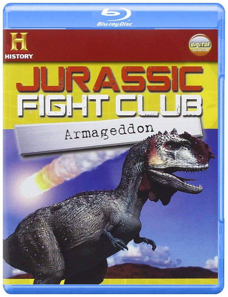 Blu-Ray Jurassic Fight Club - Armageddon (Blu-Ray+Booklet) NUOVO SIGILLATO, EDIZIONE DEL 08/04/2010 DISPO ENTRO UN MESE, SU ORDINAZIONE