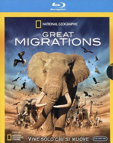 Blu-Ray Great Migrations (3 Blu-Ray+Booklet) NUOVO SIGILLATO, EDIZIONE DEL 23/03/2011 DISPO ENTRO UN MESE, SU ORDINAZIONE