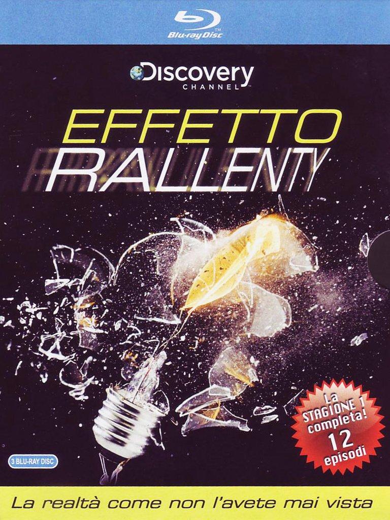 Blu-Ray Effetto Rallenty (3 Blu-Ray+Booklet) NUOVO SIGILLATO, EDIZIONE DEL 18/05/2011 DISPO ENTRO UN MESE, SU ORDINAZIONE