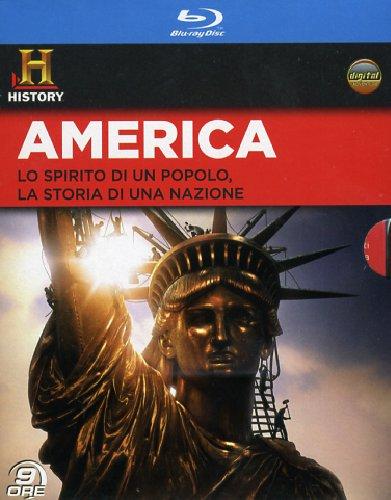 Blu-Ray America (4 Blu-Ray) NUOVO SIGILLATO, EDIZIONE DEL 24/10/2012 DISPO ENTRO UN MESE, SU ORDINAZIONE