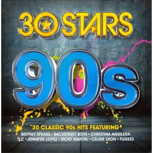 Audio Cd 30 Stars: 90s / Various (2 Cd) NUOVO SIGILLATO, EDIZIONE DEL 07/04/2014 SUBITO DISPONIBILE