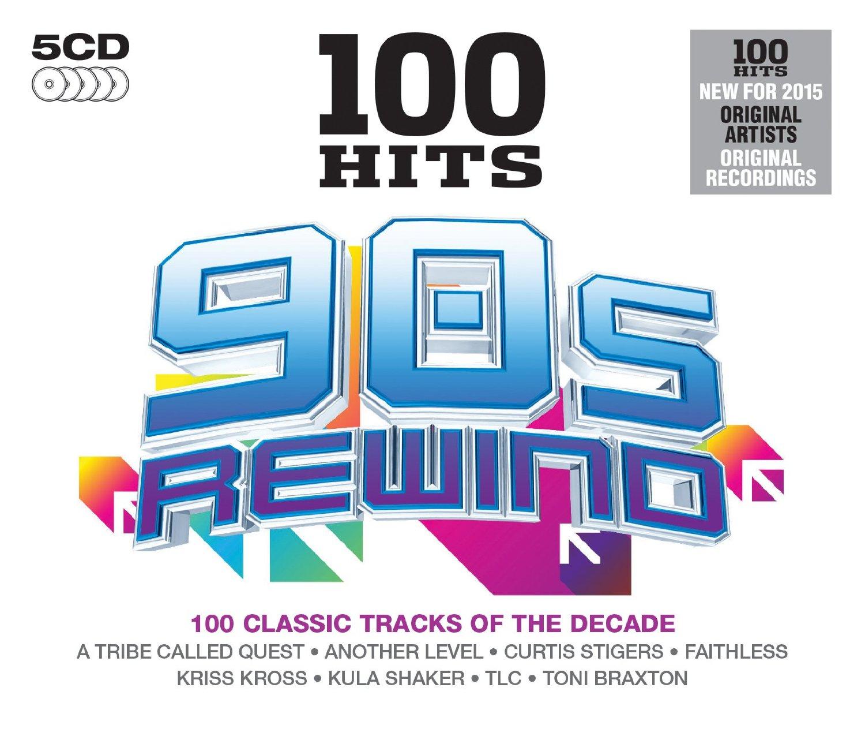 Audio Cd 100 Hits: 90s Rewind / Various (5 Cd) NUOVO SIGILLATO, EDIZIONE DEL 06/10/2014 SUBITO DISPONIBILE