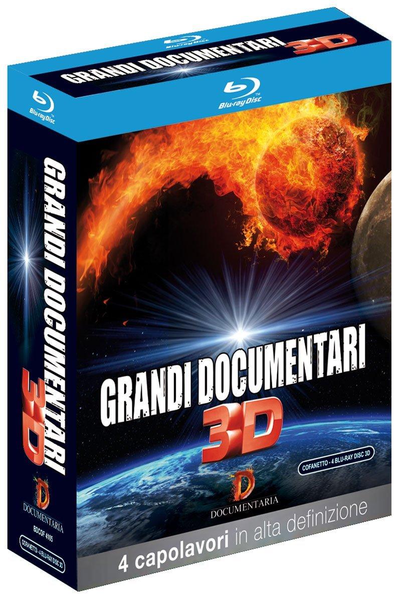 Blu-Ray Grandi Documentari 3D (4 Blu-Ray 3D) NUOVO SIGILLATO, EDIZIONE DEL 21/10/2015 DISPO ENTRO UN MESE, SU ORDINAZIONE