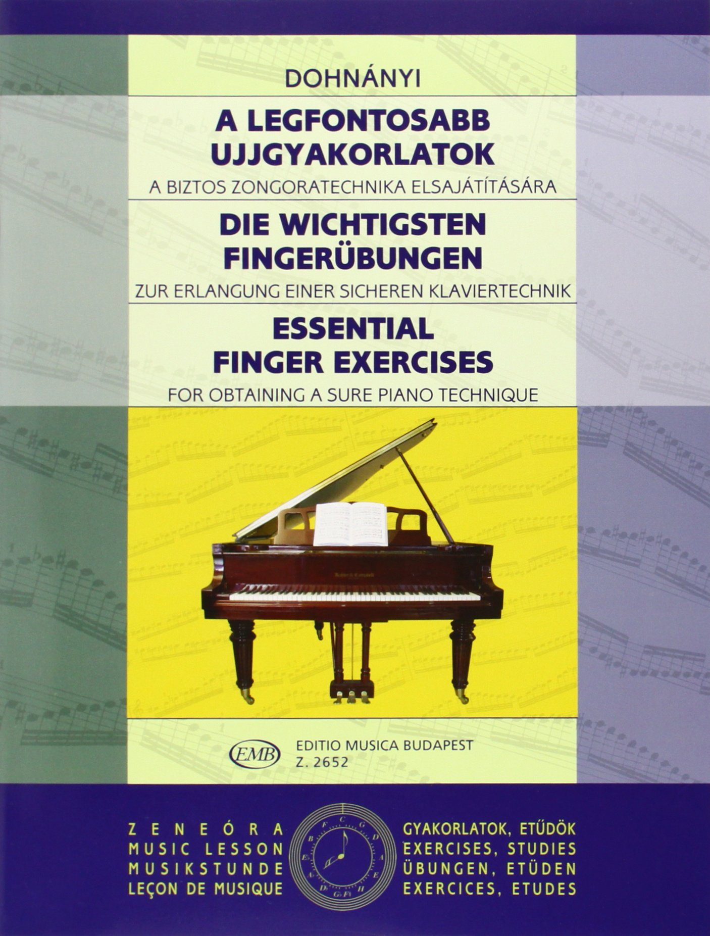EMB Essential finger exercise - DOHNANYI