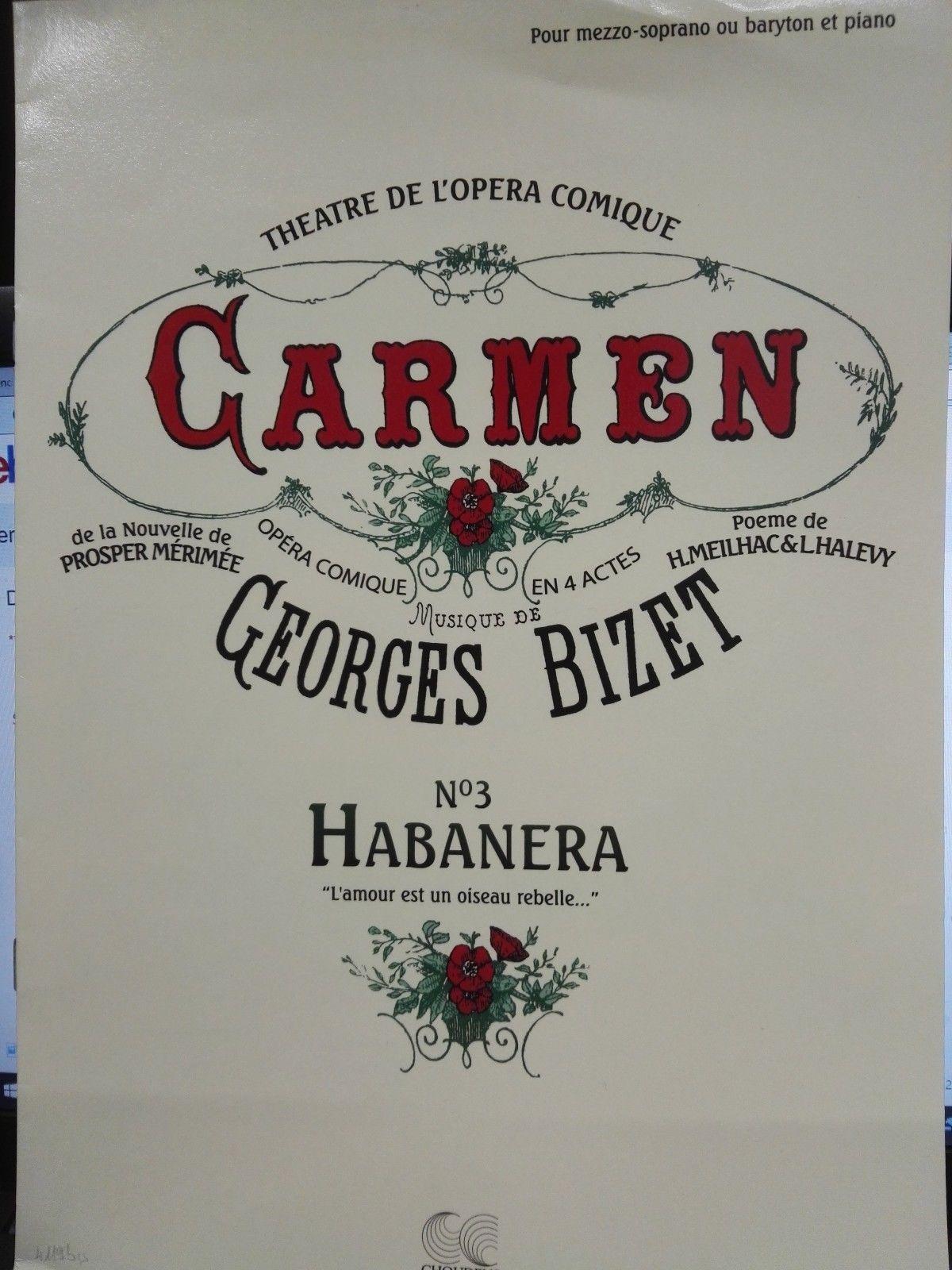 CHOUDENS CARMEN Habanera - BIZET