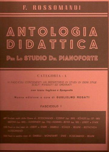 EDIZIONI S. SIMEOLI ANTOLOGIA DIDATTICA Fascicolo III - ROSSOMANDI