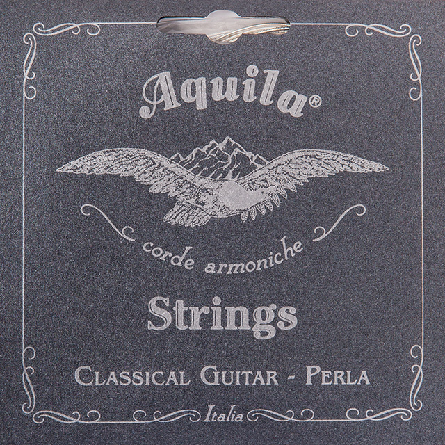 AQUILA PERLA 38C - MUTA CHITARRA CLASSICA SUPERIOR TENSION